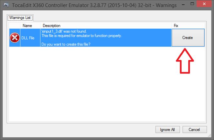USB Emulation Mode 2 (X360CE)
